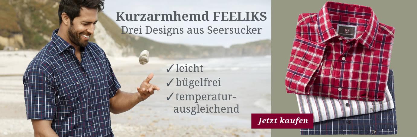 Kurzarmhemd FEELIKS