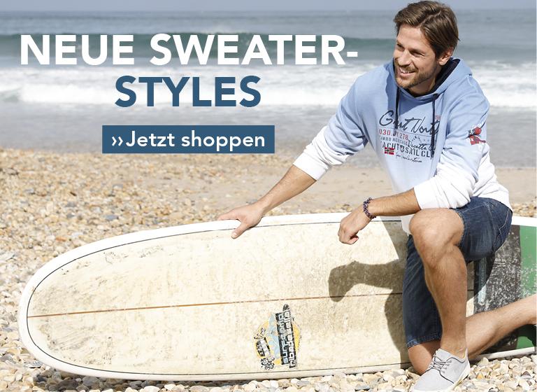 Neue Sweater